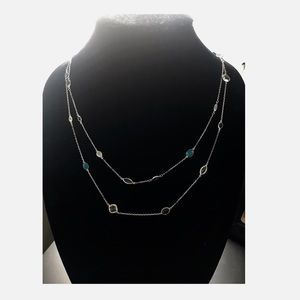 Swarovski Layered Necklace